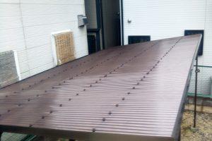 さいたま市南区のT様邸でカーポート屋根補修