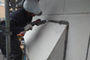 さいたま市北区E様邸で屋根補修と外壁ひび割れ補修
