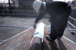 さいたま市北区E様邸で外壁と屋根、鉄部の塗装