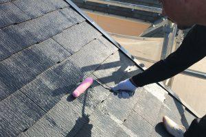 さいたま市西区、N様邸で屋根塗装や破風・鼻隠の隙間補修