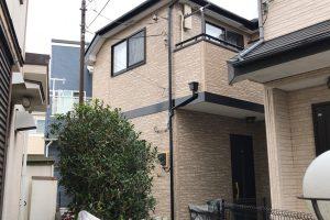 さいたま市緑区、H様邸で外壁塗装と屋根塗装の足場撤去