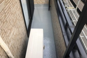 さいたま市緑区、H様邸で外壁塗装と屋根塗装の工程が完了