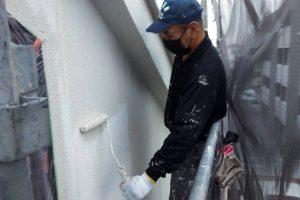 さいたま市北区E様邸の屋上防水はプライマー塗布