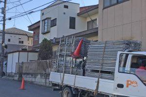 さいたま市見沼区のS様邸の屋上防水と外壁塗装が着工