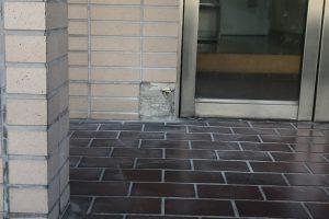 さいたま市北区E様邸で外壁タイルの下地調整
