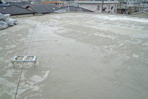 さいたま市北区、Nマンションの防水工事カチオン処理