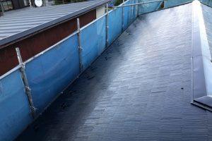 さいたま市浦和区のN様邸で屋根の上塗完了