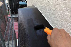 さいたま市見沼区、S様邸で外壁塗装の工程が完了