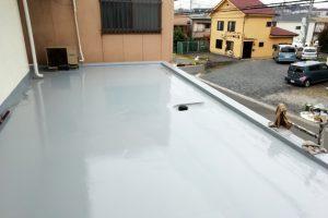 さいたま市見沼区、S様邸で外壁塗装と屋上防水が完工