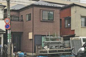 さいたま市浦和区のN様邸で屋根塗装、外壁塗装が着工