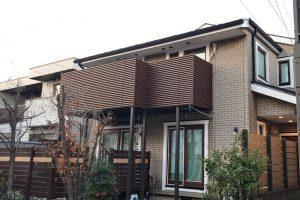 さいたま市大宮区、T様邸で屋根と外壁付帯部塗装が完工