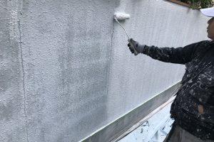 さいたま市大宮区、N様邸で外壁の付帯部分の塗装