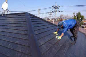 さいたま市浦和区、T様邸で屋根瓦の取付が完了