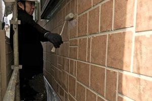 さいたま市北区、M様邸で屋根塗装と外壁塗装の続き