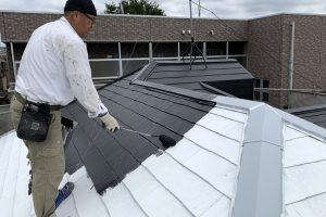 さいたま市見沼区のK様邸で屋根塗装と外壁塗装