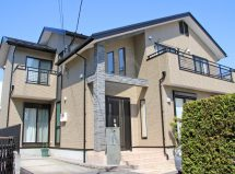 さいたま市中央区で屋根遮熱塗装、外壁クリア塗装、コーキング打替、ベランダ防水の施工例