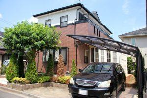 さいたま市大宮区、Y様邸の屋根塗装と外壁塗装が完工