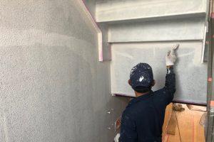 さいたま市北区のGマンションで階段室内の塗装が完了