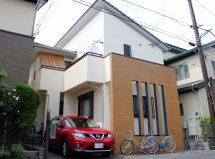 上尾市で外壁塗装とタイル塗装の施工例