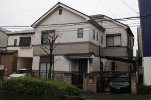 さいたま市南区、T様邸の屋根塗装と外壁塗装が完工