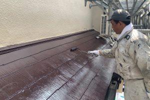 さいたま市浦和区で2棟のK様邸は屋根塗装と外壁塗装が完了