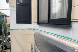 蓮田市、A様邸で外壁塗装が完了