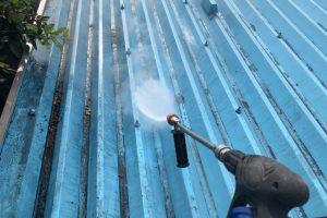さいたま市北区、Sアパートの屋根塗装、外壁塗装が着工