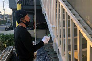 さいたま市北区、Sアパートで屋根塗装と外壁塗装が完了