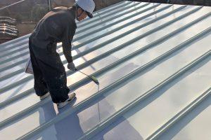 さいたま市浦和区、N様の歯科医院で屋根塗装と外壁塗装の工程が完了